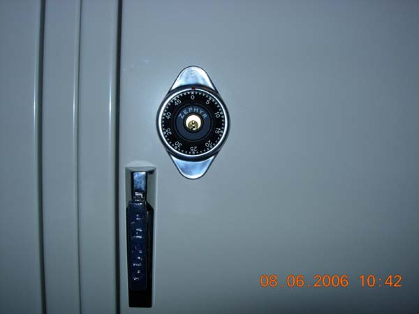 Built In Combination Locks (School Locks)image 2 image 2